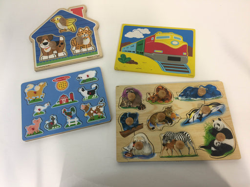 used BUNDLE Wooden Puzzles