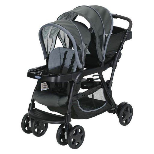 used Graco RoomFor2 Stand And Ride Double Stroller, 2018