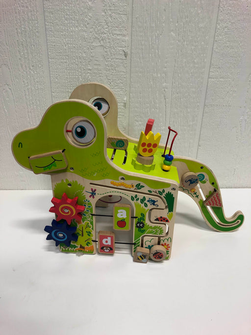 used Manhattan Toy Dino Wooden Activity Center