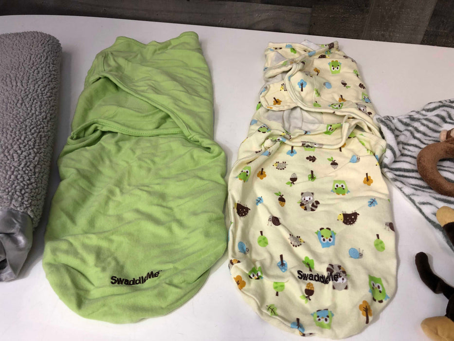 BUNDLE Baby Swaddles, Sleep sacks, sleep accessories, ect.