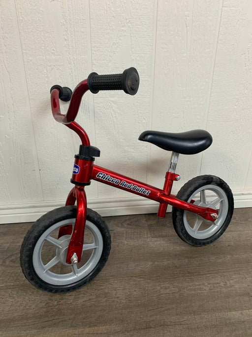 used Chicco Red Bullet Balance Bike