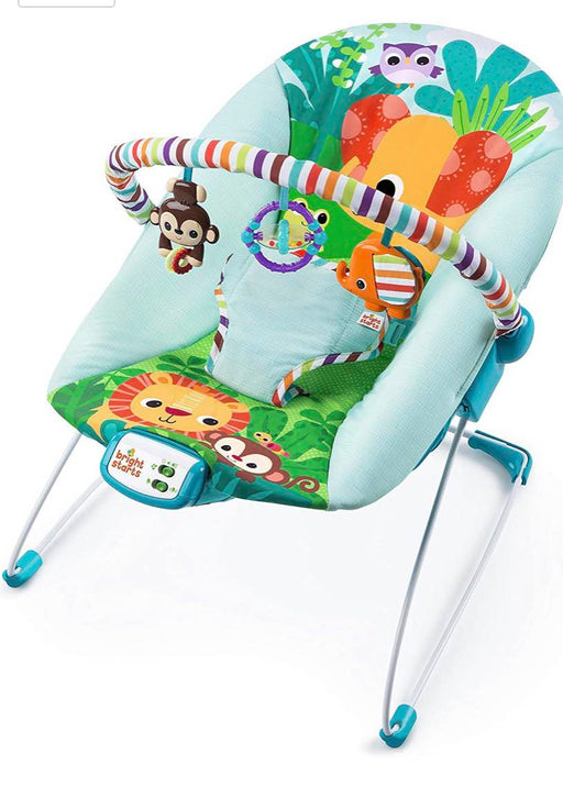used Bright Starts Safari Surprise Bouncer