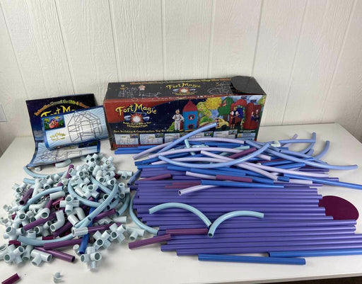 used Fort Magic Fort Building And Construction Kit