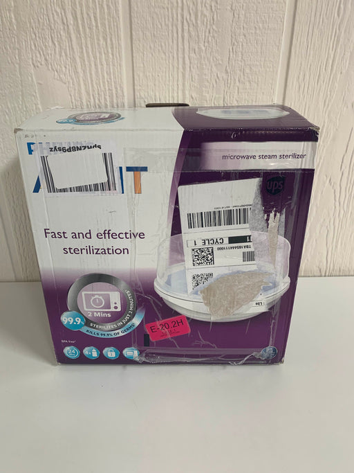 used Philips Avent Microwave Steam Sterilizer
