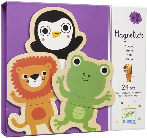 DJECO Magnetic Coucou Wooden Magnets