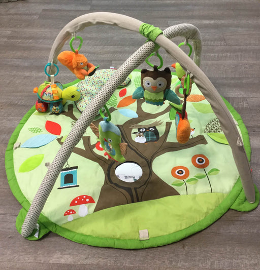 used Skip Hop Activity Gym/ Playmat, Treetop Friends