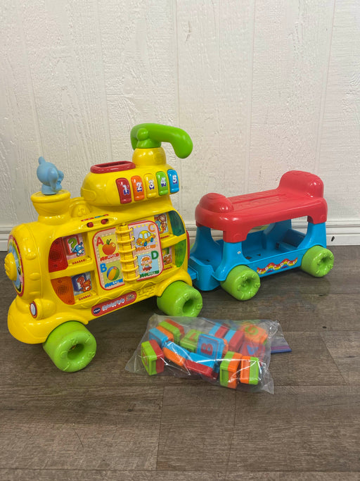 secondhand VTech Sit To Stand Alphabet Train