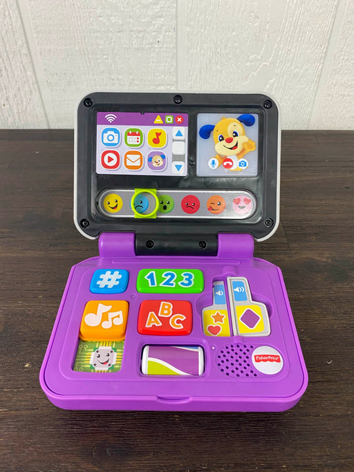 used Fisher Price Laugh & Learn Click & Learn Laptop