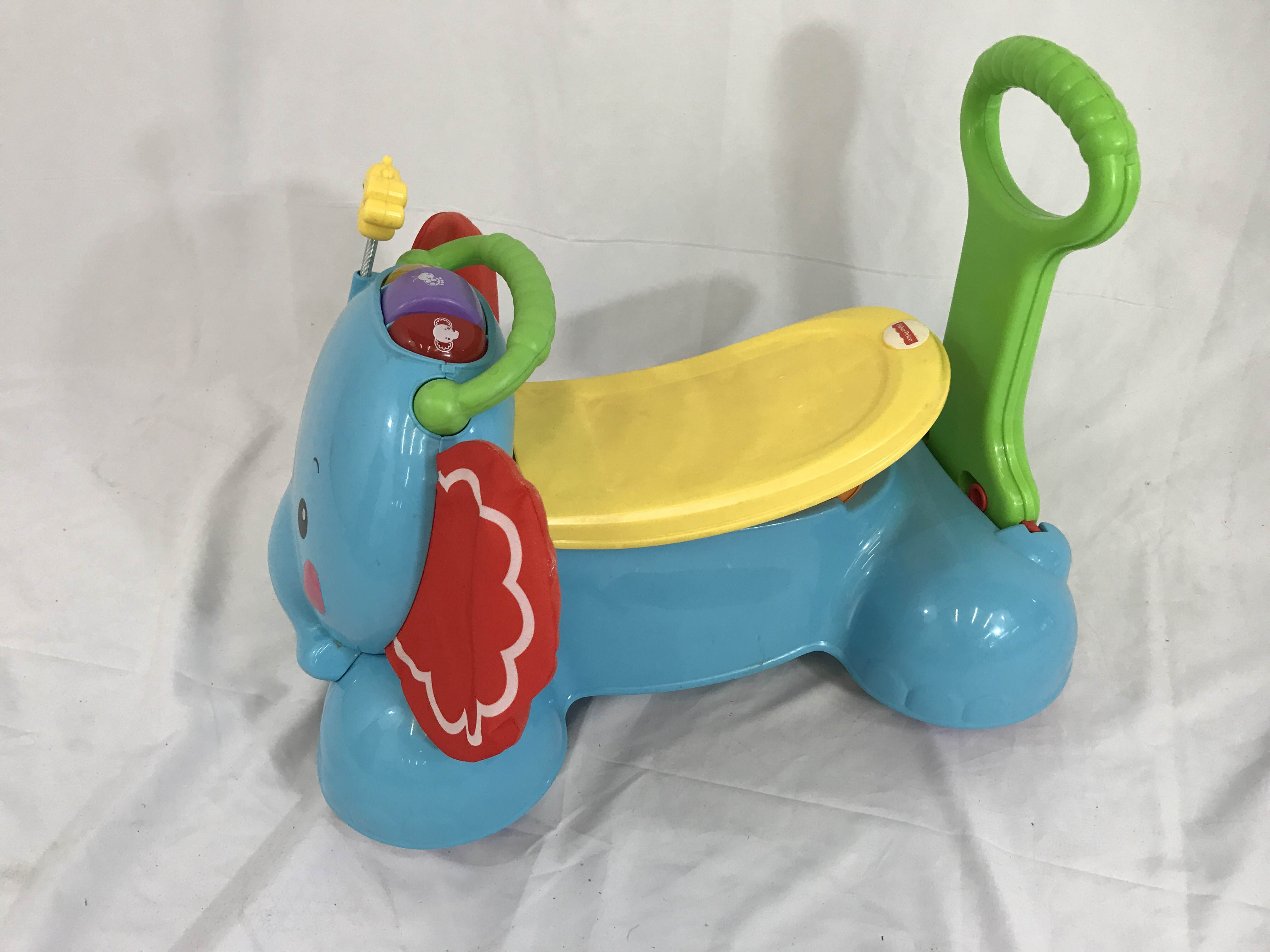 Fisher Price Elephant Push Toy Good Buy Gear