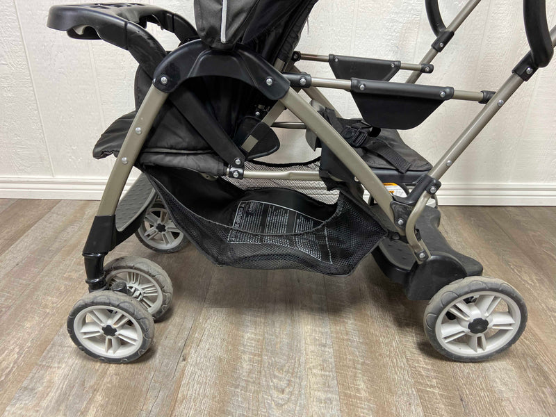 used Graco RoomFor2 Stand And Ride Double Stroller, 2014