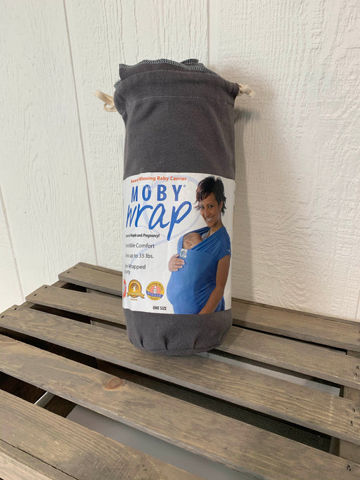 used Moby Wrap Baby Carrier