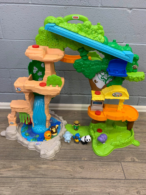used Fisher Price Share And Care Safari Playset