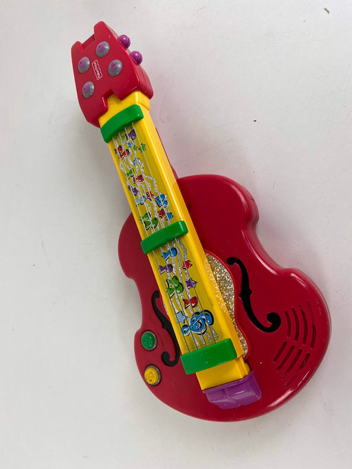 used Fisher Price 2-in-1 Back 'n Rock Guitar