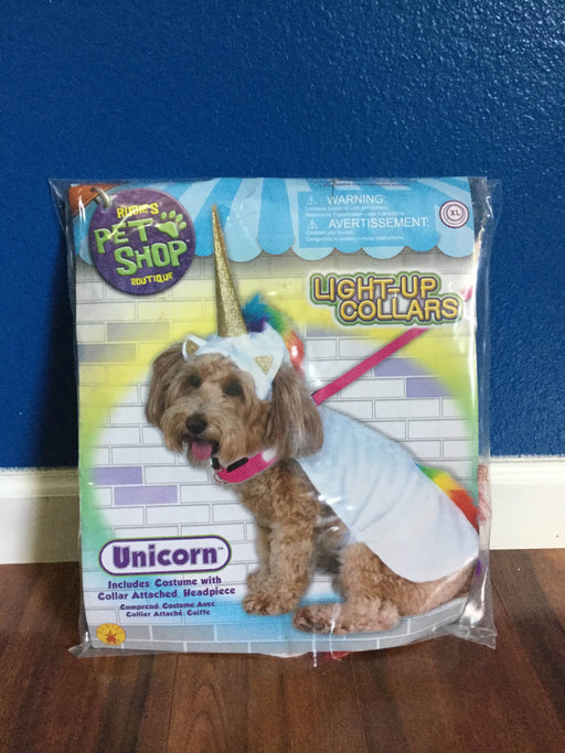 used Rubie's Pretend Play Unicorn Pet Costume