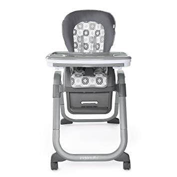Ingenuity SmartServe 4-in-1 High Chair With Swing Out Tray, Clayton