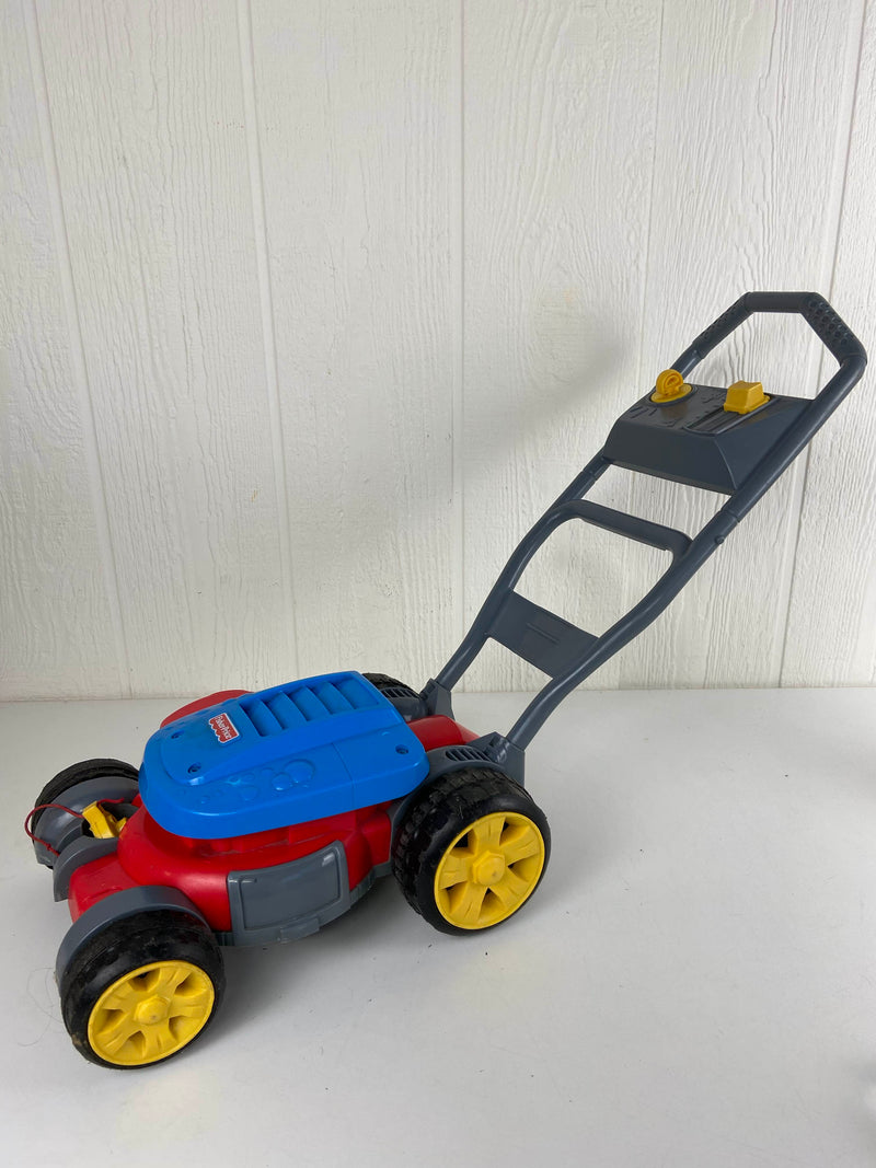 secondhand Fisher Price Bubble Mower