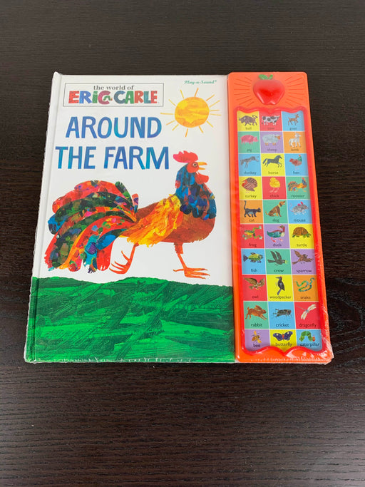 used Eric Carle Around The Farm Sound Book