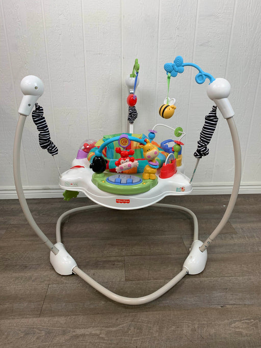 secondhand Fisher Price Jumperoo Activity Center
