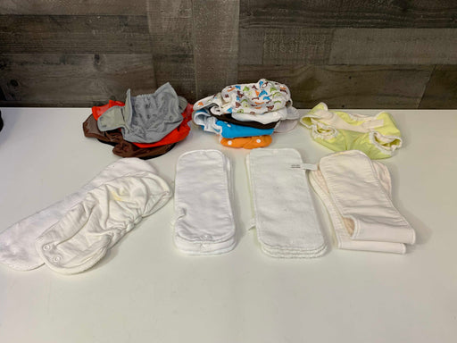 used BUNDLE Cloth Diapers