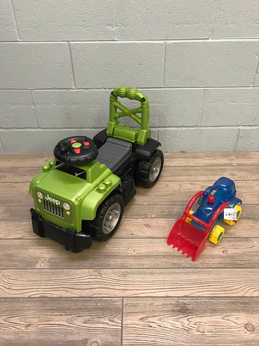 Mega Bloks Jeep 3 In 1 Ride On And Truck