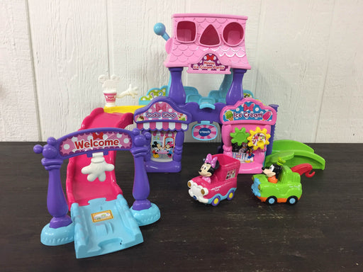 used VTech Go! Go! Smart Wheels Disney Minnie Mouse Ice Cream Parlor