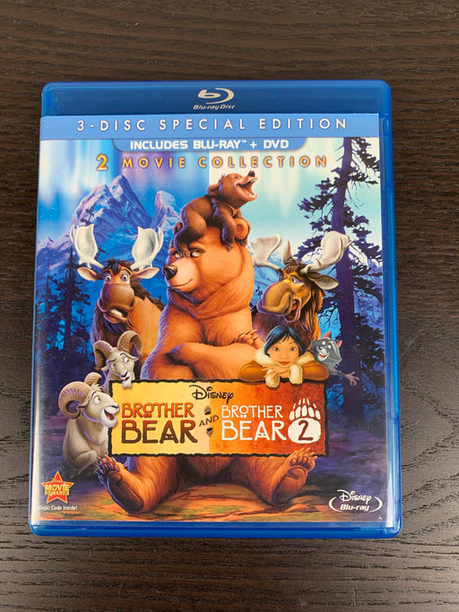 used Disney Bears & Bears 2 Blu-ray