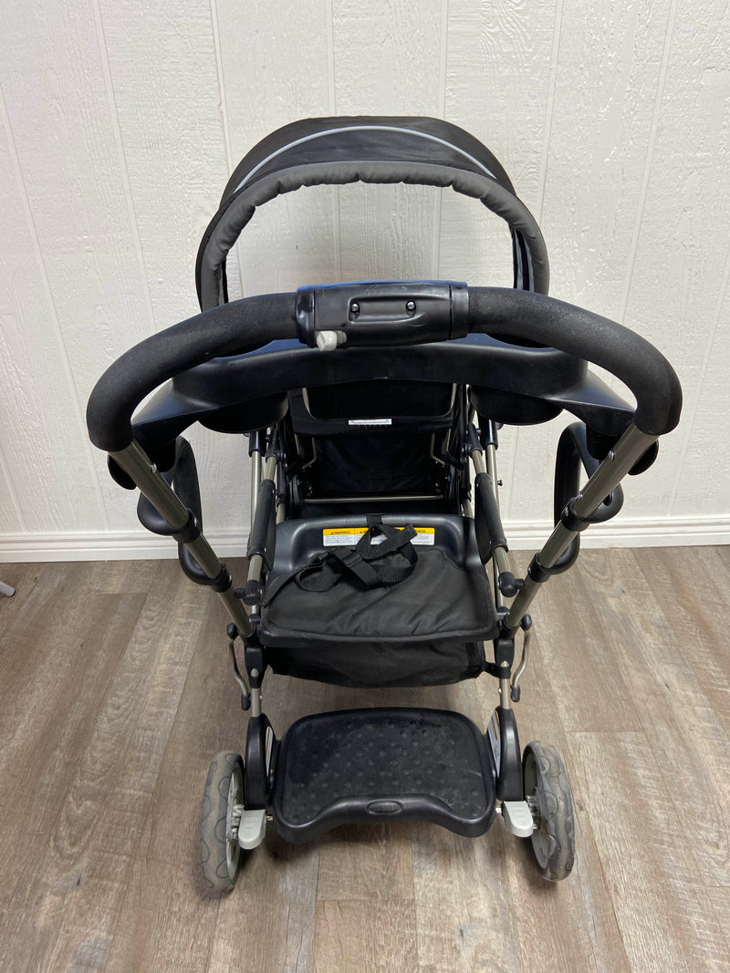 secondhand Graco RoomFor2 Stand And Ride Double Stroller, 2014