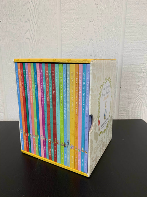 used Beatrix Potter The Complete Peter Rabbit Library Box Set
