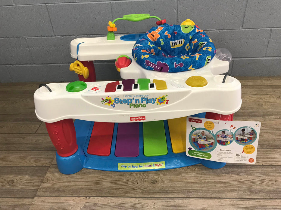 Fisher price little superstar step n play piano good buy gear fisher price little superstar step n play piano watchthetrailerfo