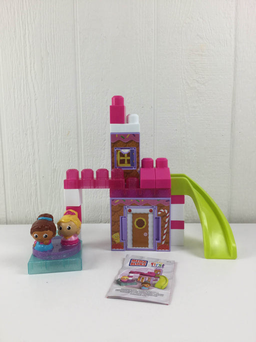 used Mega Bloks Set Gingerbread Park