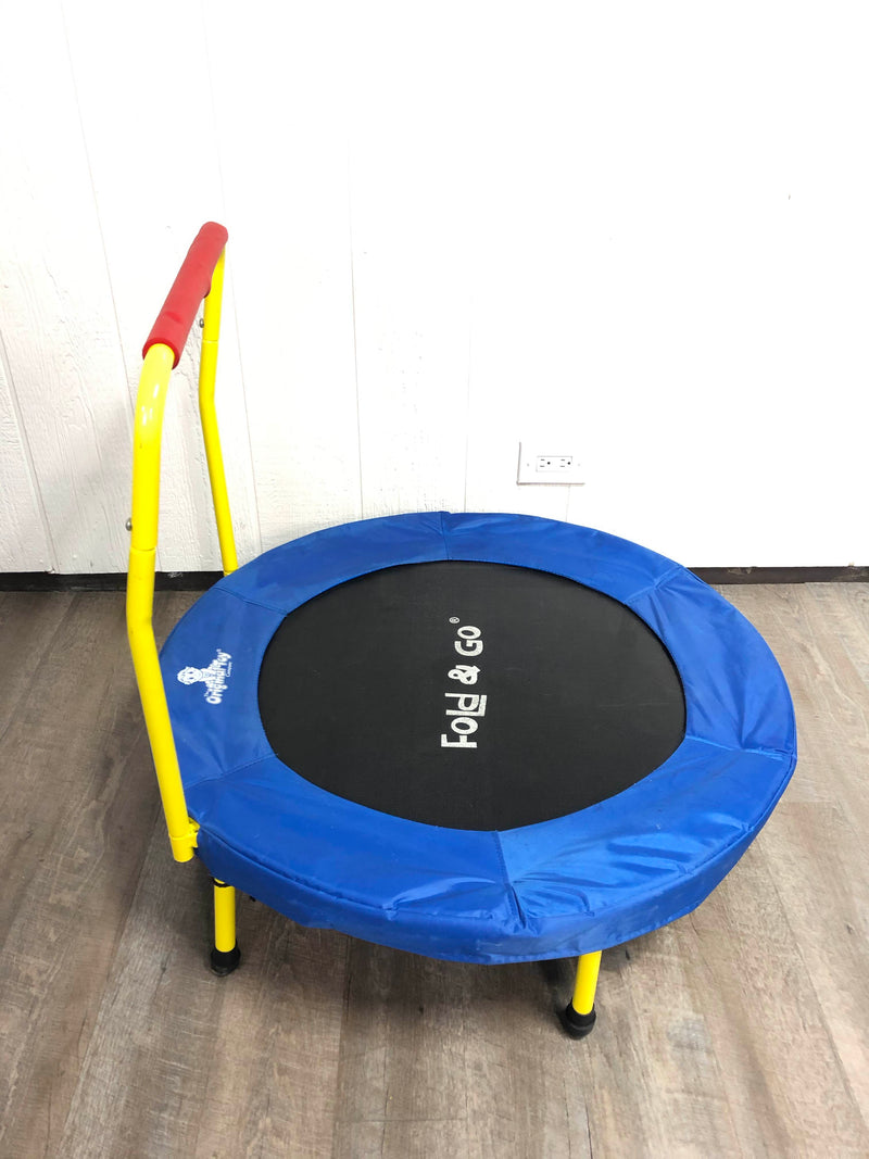 used Original Toy Company Fold And Go Trampoline