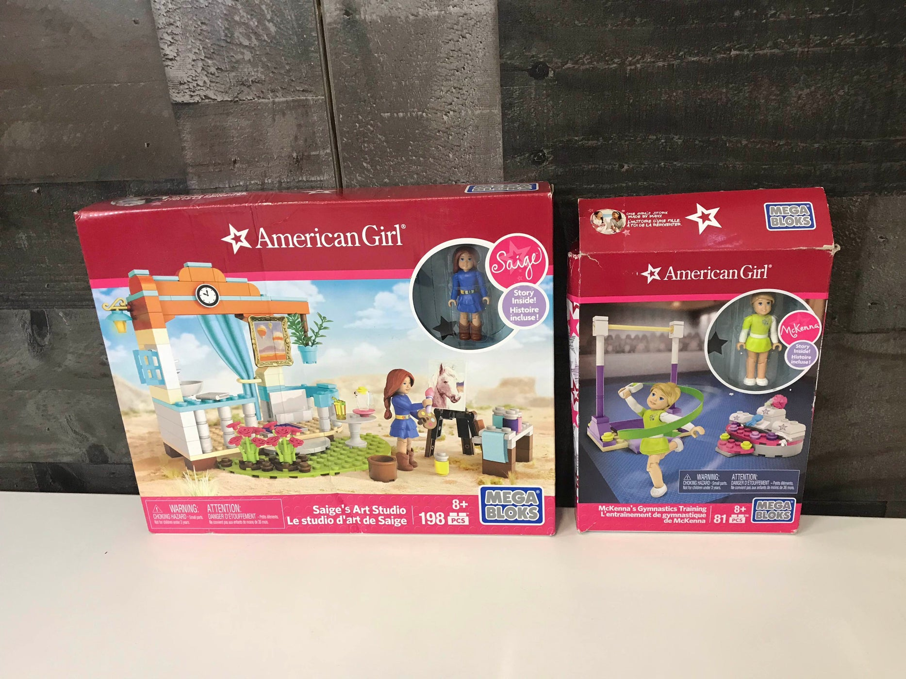 Mega Bloks American Girl Play Sets