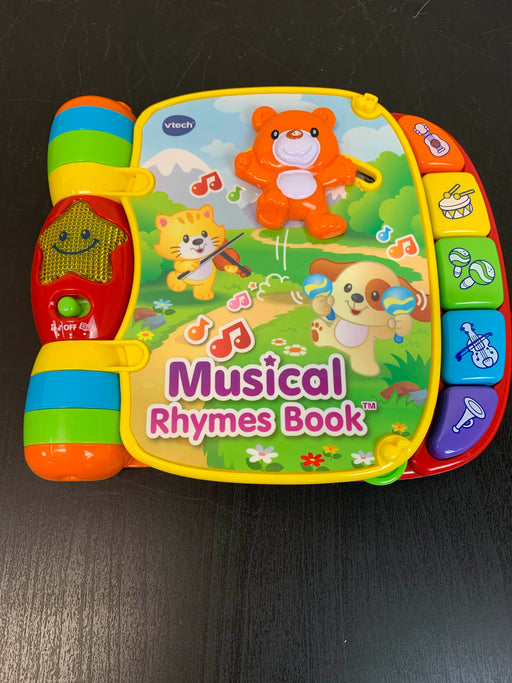 used VTech Musical Rhymes Book