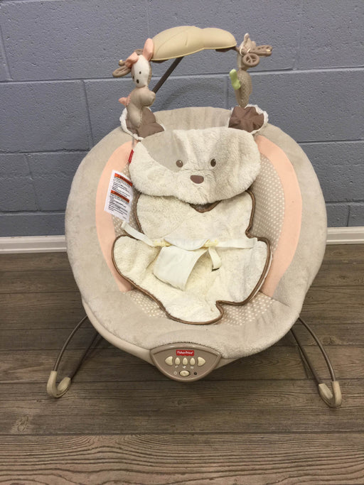 used Fisher Price Deluxe Bouncer, My Little Snugapuppy