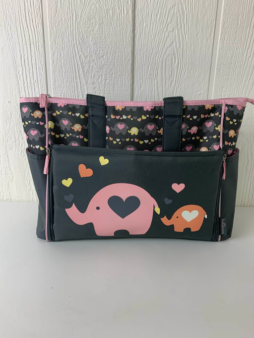 used Babyboom Drop Front Diaper Bag