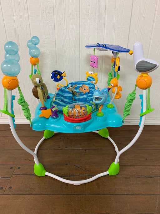used Bright Starts Finding Nemo Sea And Swim Bouncer