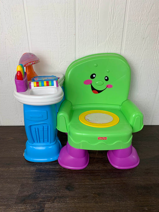 used Fisher Price Song And Story Learning Chair