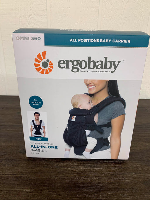 used Ergobaby Omni 360 All Positions Baby Carrier