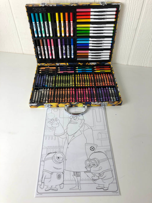 used Crayola Despicable Me Inspiration Art Case