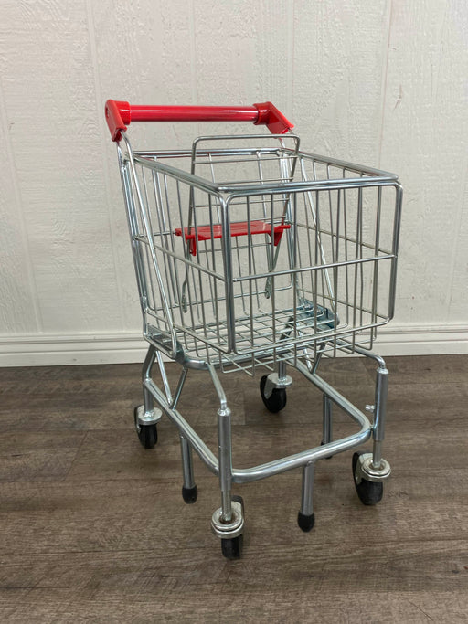 secondhand Melissa & Doug Toy Shopping Cart