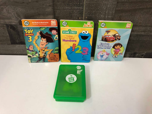 Leap Frog Tag Junior Books And Flash Cards