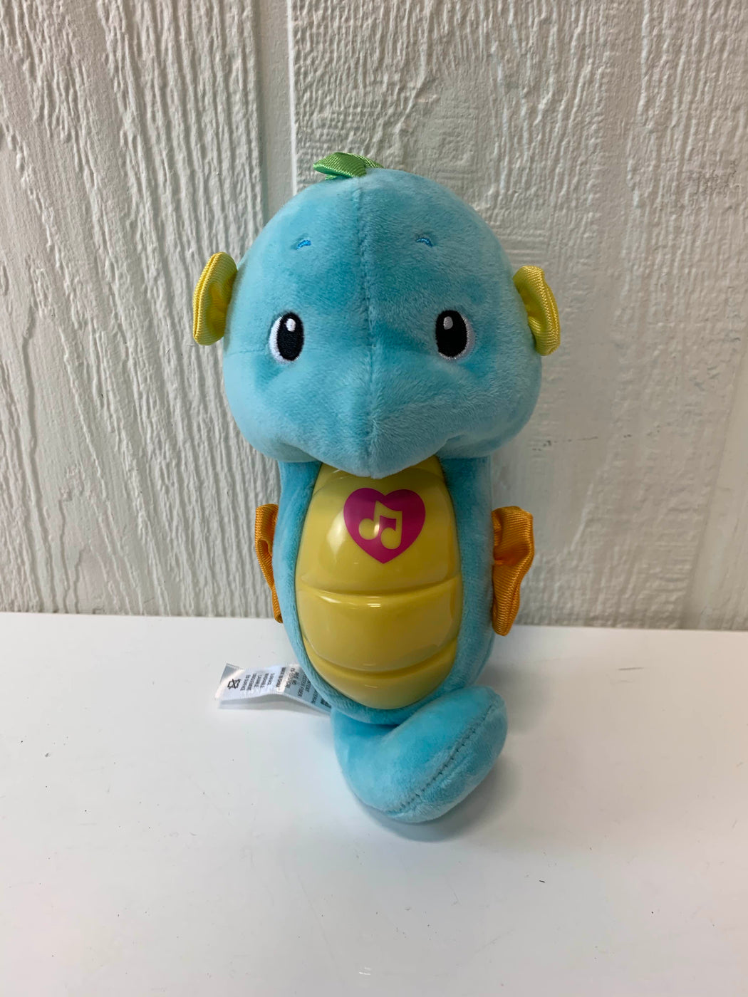 used Fisher Price Soothe & Glow Seahorse