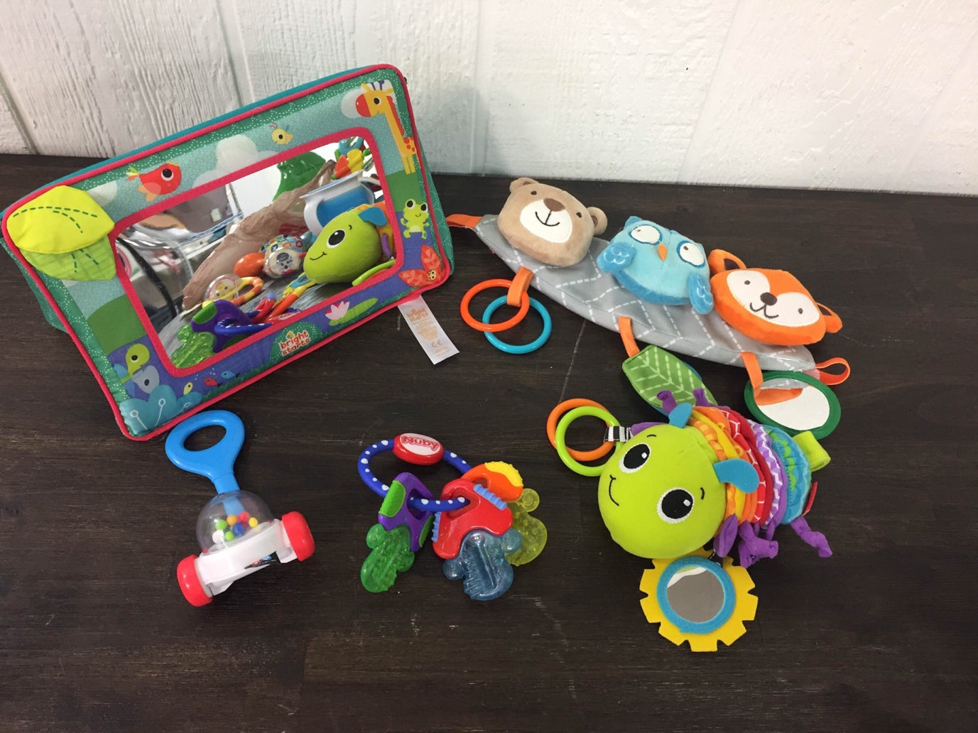 used BUNDLE Infant/Toddler Teething And Activity Set