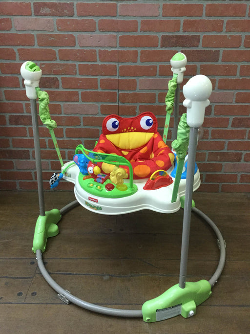 used Fisher Price Jumperoo Activity Center, Rainforest