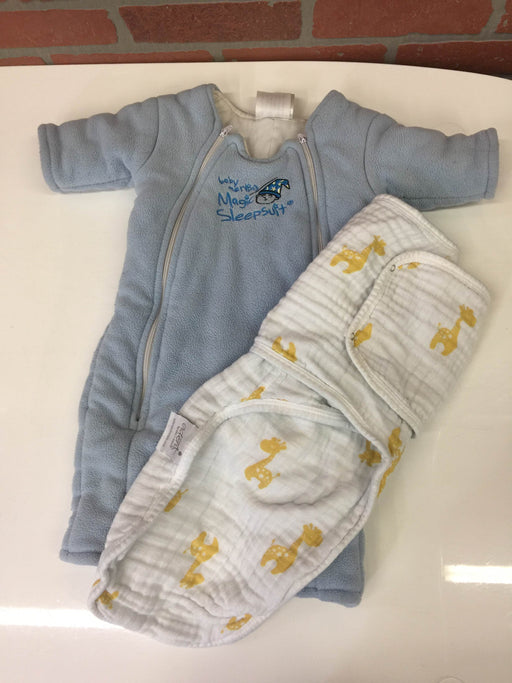 BUNDLE Sleep Sack And Baby Merlin's Magic Sleep Suit