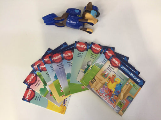 BUNDLE Easy Reading Books Plus Paw Patrol Bath Toy
