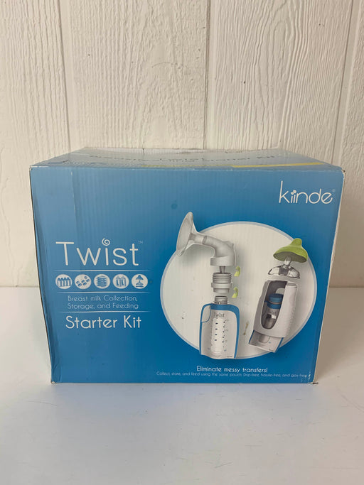 used Kiinde Breast Milk Storage Twist Starter Kit