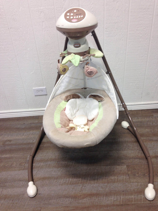 used Fisher Price Sweet Surroundings Cradle 'n Swing