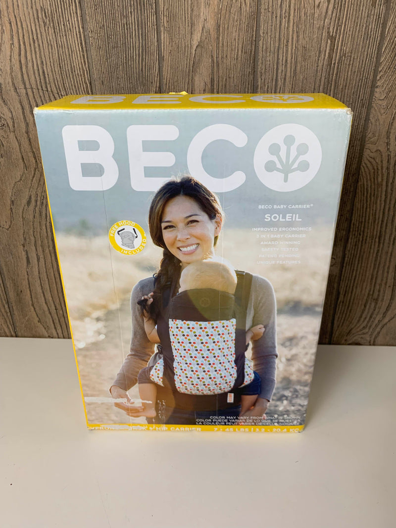 secondhand Beco Soleil Baby Carrier