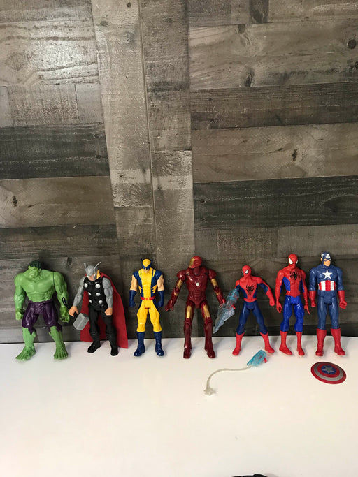"Hasbro Marvel Large 12"" Action Figures"